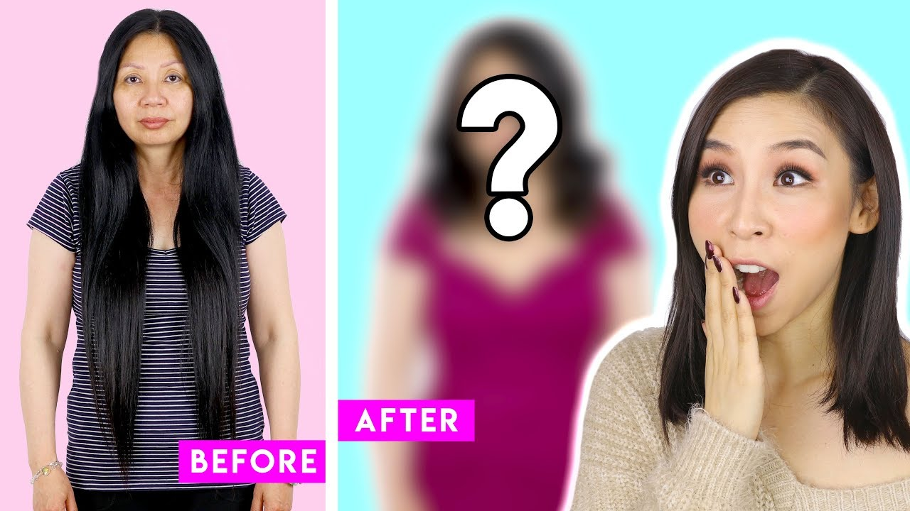 I Give My Mum a Full Makeover Transformation! 🙊 – Tina Yong