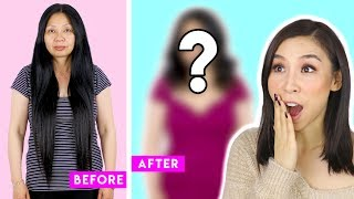 I Give My Mum a Full Makeover Transformation! 🙊  - Tina Yong