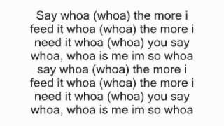 Down With Webster - Whoa is Me - Lyrics