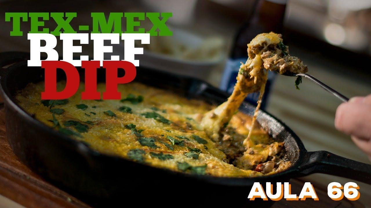 Tex-Mex Beef Dip (Como fazer comida Tex-Mex) / Cansei de Ser Chef