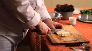 Кулинарный мастер класс. Овощной салат с адыгейским сыром