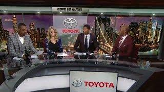 Blazers vs Pelicans Game 1 Halftime Report | April 14, 2018