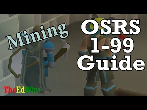 Runescape 2007 1-99 Mining Guide | OSRS 99 Mining Guide