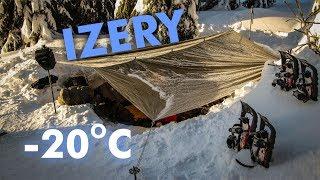 Styczniowe Izery - mróz, spanie w śniegu i dobra zabawa!