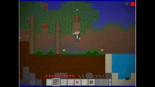 Maincraft 2d или Mini Bloks с Дентосом:строим дом