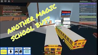 ANOTHER BUS? II ROBLOX High School #2