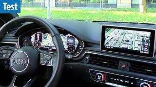 Mit Google Earth über die Autobahn - Audi A4 V6 im Test | deutsch / german
