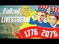 Fallout 76 Launch Day Livestream With Cam and Seb