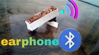 How to make a ear phone at your home very easy to make this