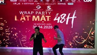 Quách Ngọc Tuyên làm dance cho ca sĩ Lý Hải.