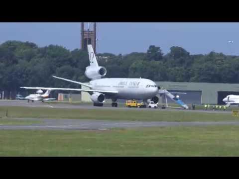 F-18 Hornets Depart Prestwick Airport - [4K/UHD]