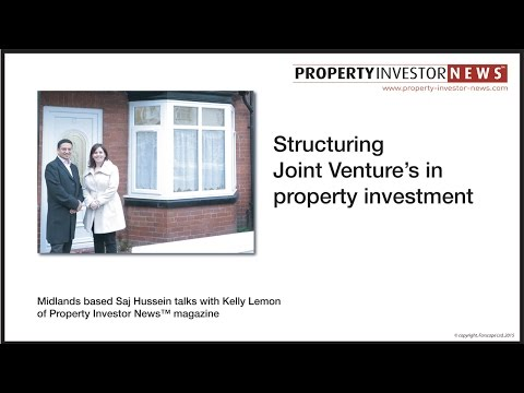 Structuring Joint Ventures in property investment