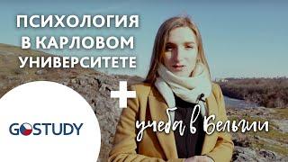 Обучение в Чехии. Карлов университет. Психология.