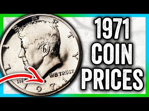 1971 HALF DOLLAR COIN VALUES - KENNEDY COINS TO LOOK FOR THAT ARE RARE!!