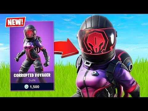 New Corrupted Voyager Skin! (Fortnite Battle Royale)