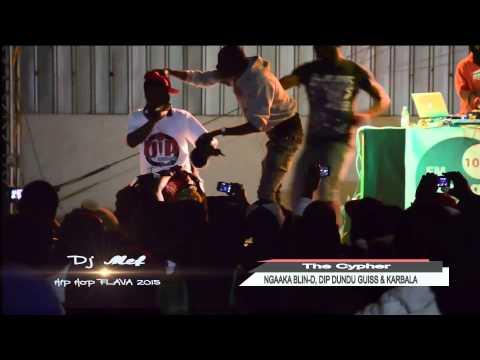 NGAKA BLIN D, DIP DUNDU G & KARBALA CYPHER DJ Mef Fm Senegal 103.1 anniversaire Hip hop Flava 2015