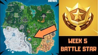 Week 5 Secret Battle Star Fortnite Season X CATASTROPHIC
