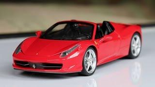 Review - 1:18 Scale Hot Wheels Elite Ferrari 458 Spider