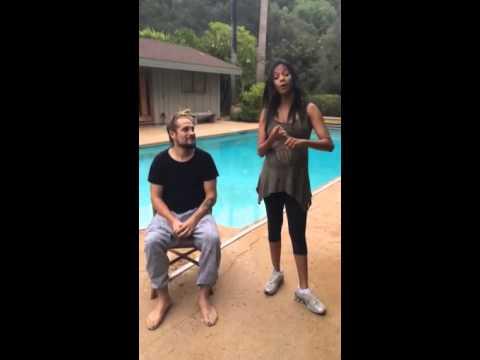 Zoe Saldana Ice Bucket Challenge