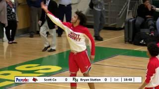 #1 Scott County at #4 Bryan Station - Boys HS Basketball