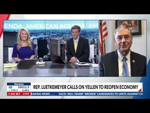 April 15, 2021: Luetkemeyer on Newsmax with Heather Childers and Bob Sellars