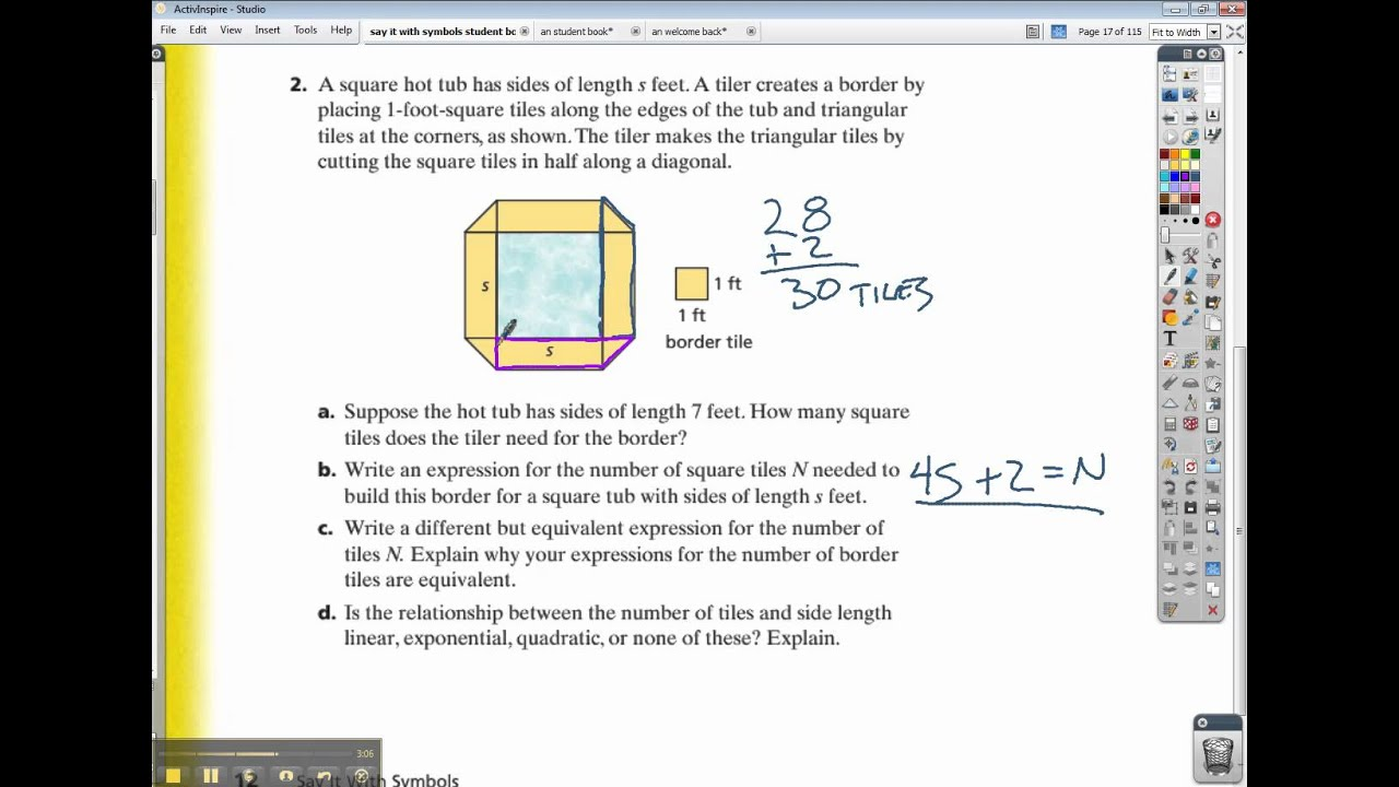 Connected math 2 homework help