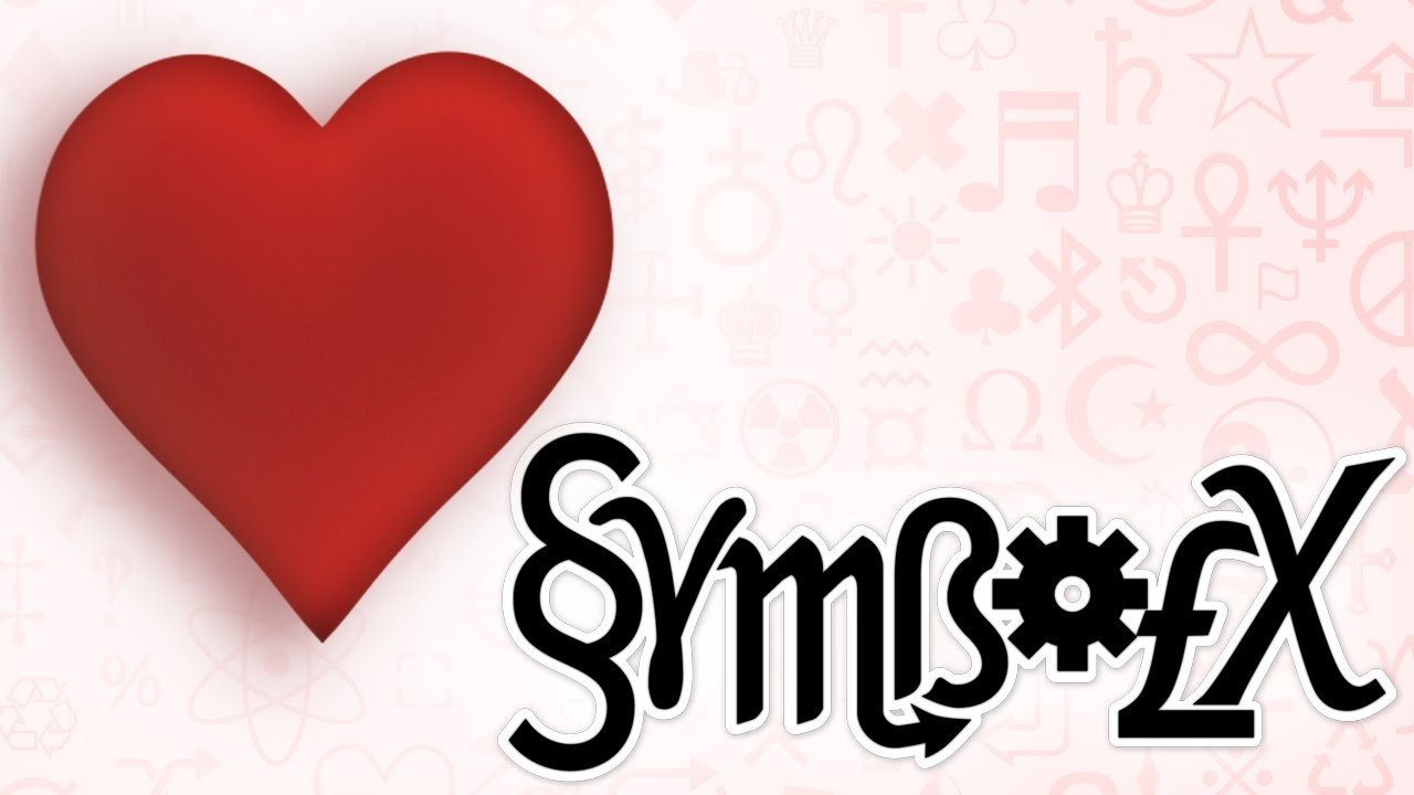 Symbolx the origin of the heart symbol youtube biocorpaavc