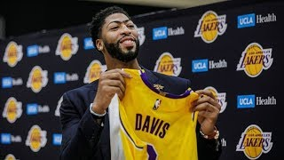 Anthony Davis Wont Commit to Lakers Long Term! 2019-20 NBA Season