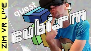 Cubism Gameplay on Quest - Sanity LOST!