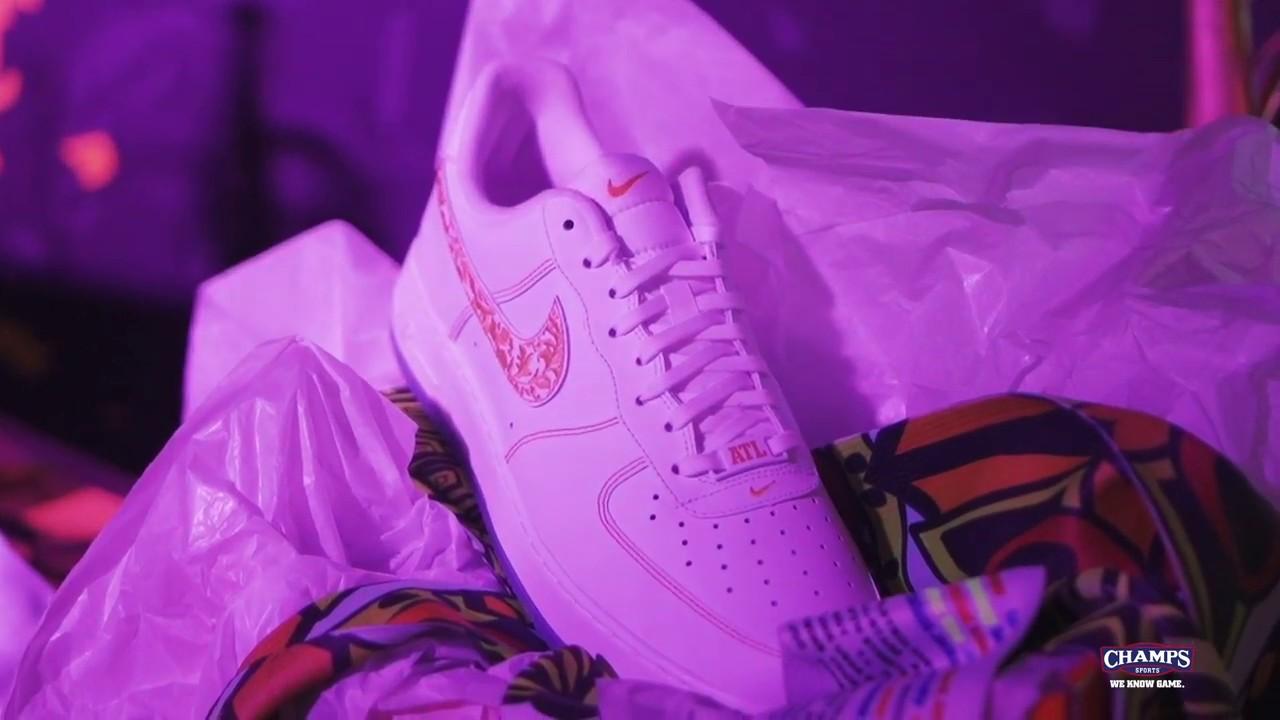 6d0f931d881 Atlanta Air Force 1 Inspired Sneaker Art by Melissa