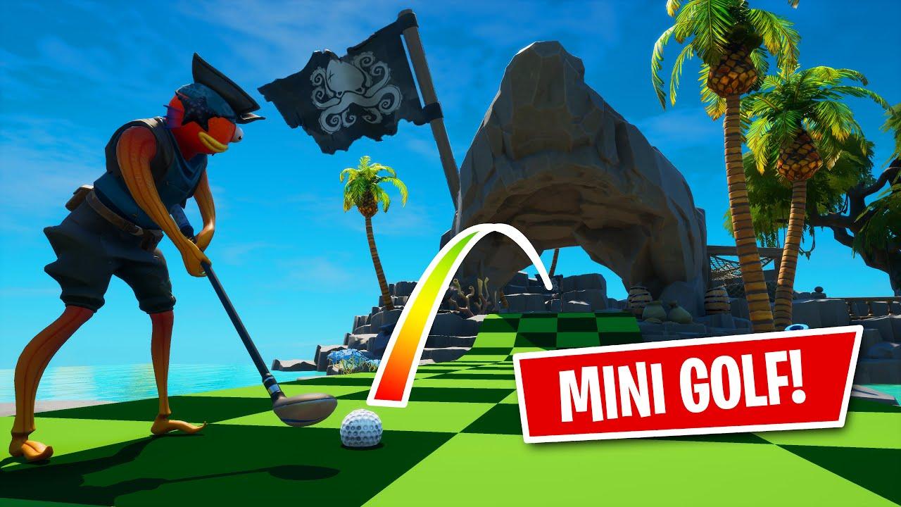 Building a PIRATE MINI GOLF game in Fortnite Creative! - EP #1