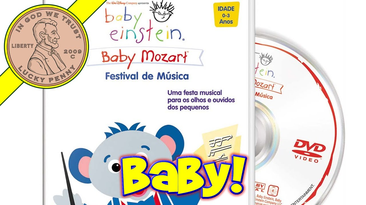 Disney Baby Einstein Collection Of Baby Mozart CD's And