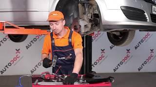 Как се сменят Носач На Кола на OPEL ASTRA H Estate (L35) - онлайн безплатно видео