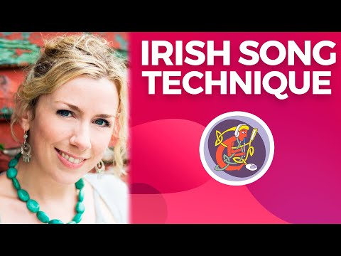 Irish Singing Lesson: Chest Voice + Ornamentation + Love is Teasing with Muireann Nic Amhlaoibh