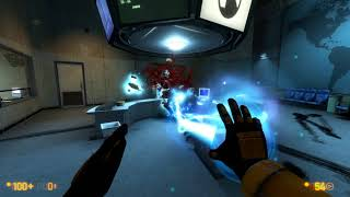Black Mesa with Crack-Life weapons
