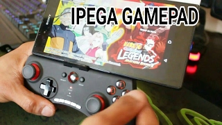 Manette IPEGA BLUETOOTH CONTROLLER - TUTO Fr | Smart Gamepad | SONY XPERIA Z ULTRA | ANDROID & IOS |