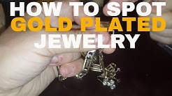How to spot #gold plated #jewelry