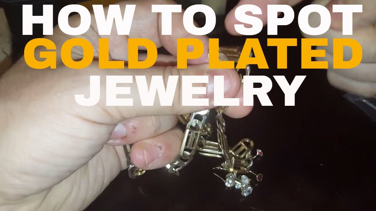 How to spot gold plated jewelry YouTube