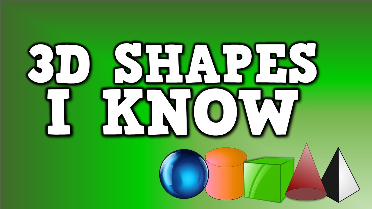 hight resolution of 3-D Shapes (songs