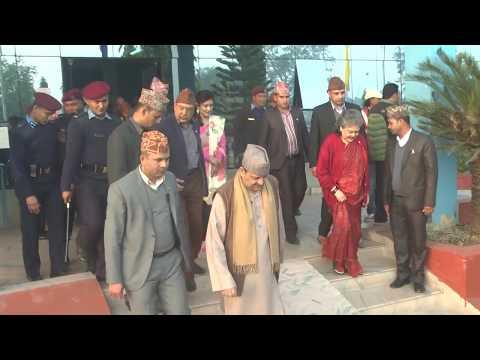 राजा आए पछि नेपालगन्जबासीहरु उत्साहित/King In Nepalgunj/ Kohalpur Kathmandu Kngs Ghyanendra Shah