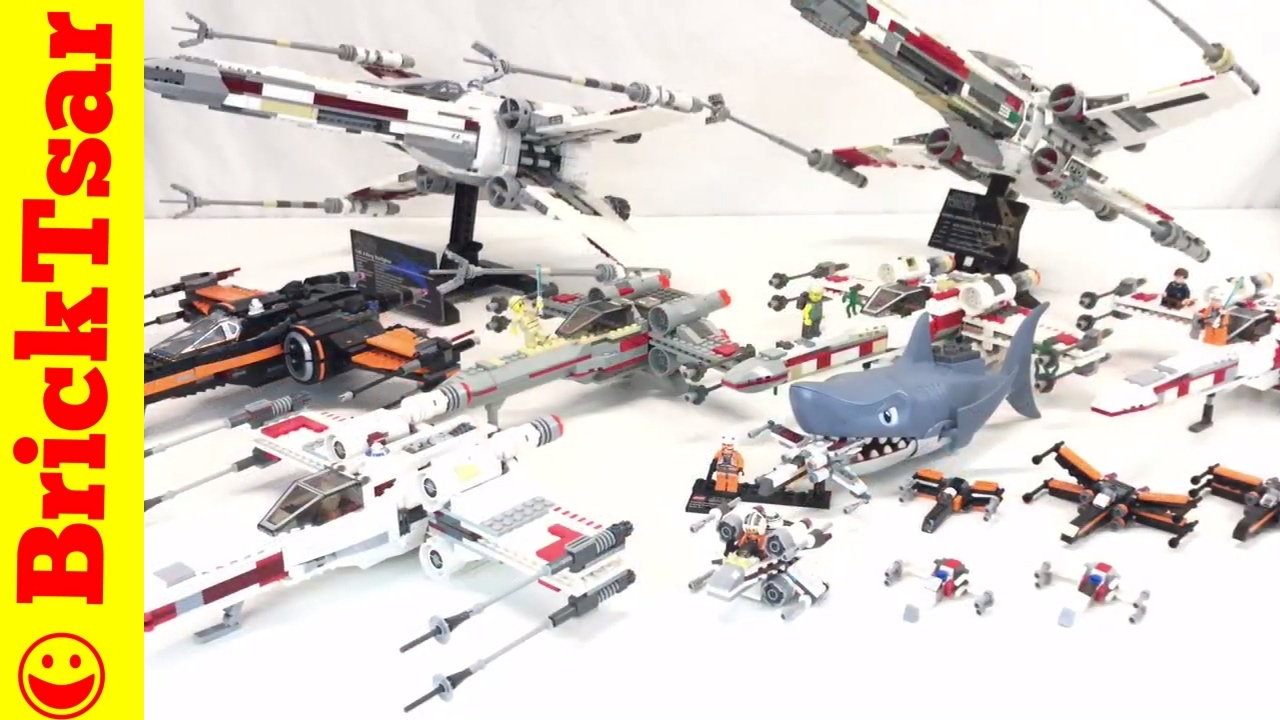 Lego Star Wars X Wing Starfighter Collection Youtube 75102 Poeamp039s Fighter