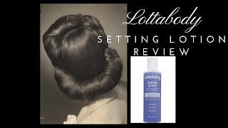 Product Review: Lottabody Setting Lotion