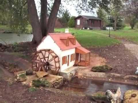Moulin a vent et a eau youtube for Jardin 4 vents