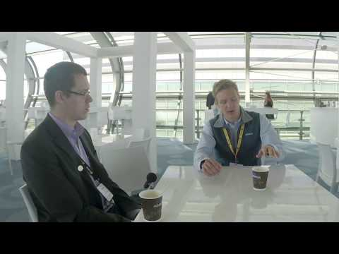 Bitcoin 2014 conference - Interviewing Olaf Carlson-Wee