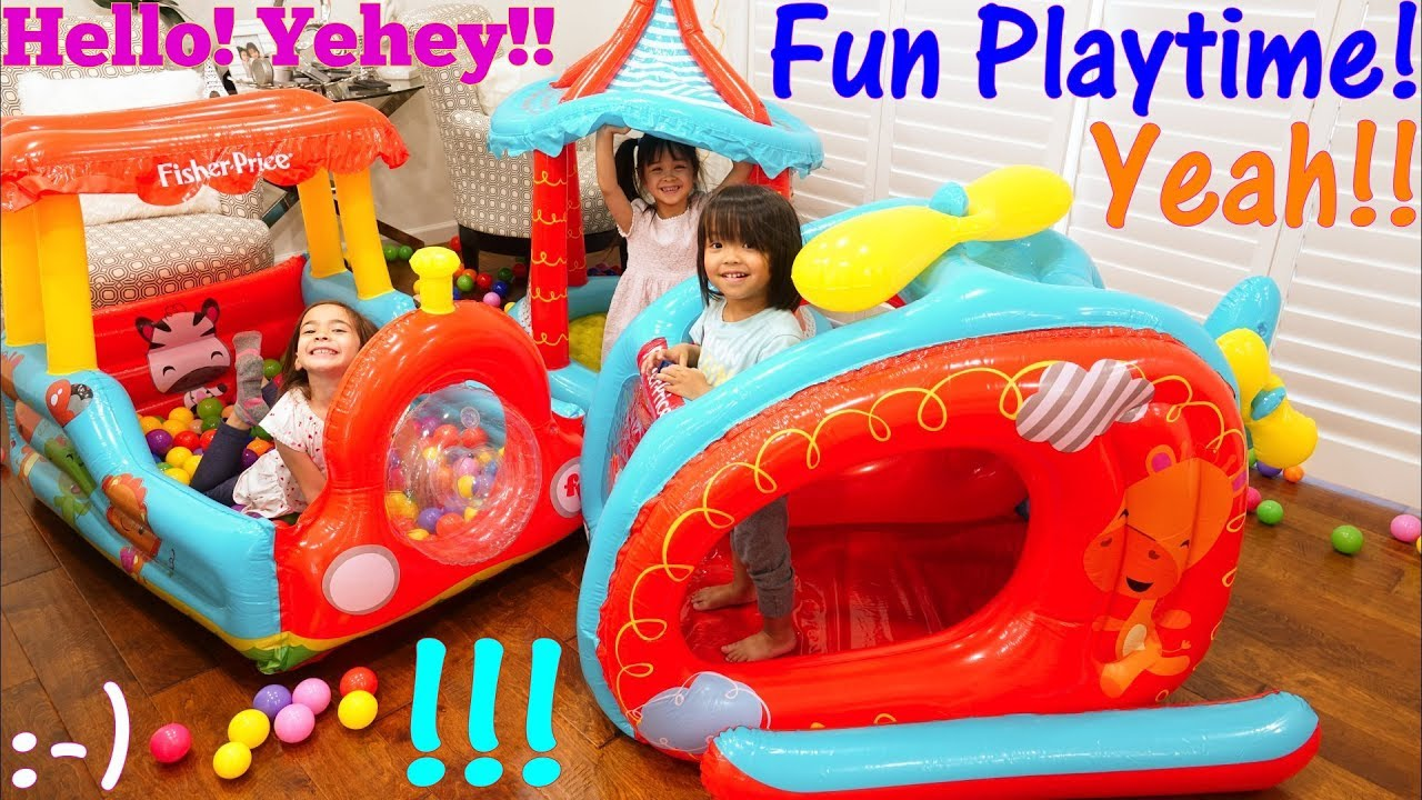 best service 0339d 3b381 Toys: Ball Pit Play Sets. Pool of Plastic Balls! Inflatable Play Tent  Playtime. Fidget Spinners!