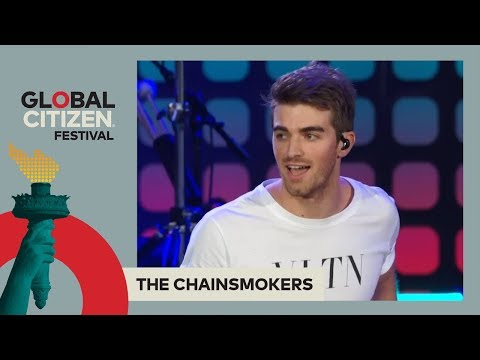 The Chainsmokers Perform 'Closer' | Global Citizen Festival NYC 2017