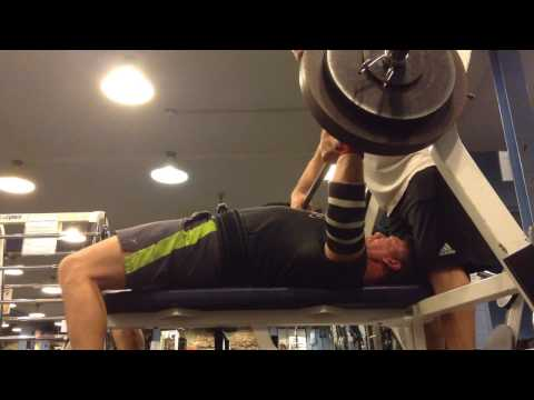 Mark Mcentee - 300 Lbs. Bench Press x2 @ 192 Lbs. Bw.