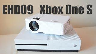 Проектор за 80$ для игр Xbox One S EHD09 GP9