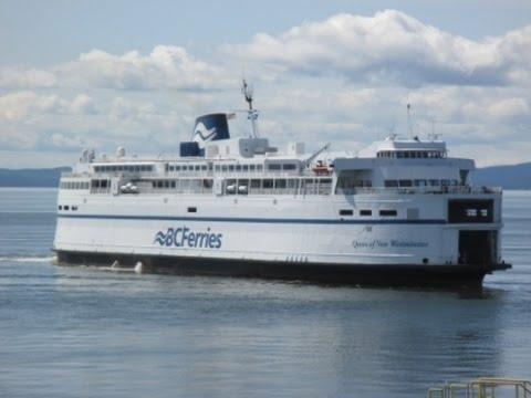 BC Ferries Tsawwassen to Swartz Bay (Queen of New Westminster)