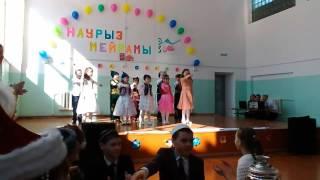 Танец(флешмоб)на Наурыз